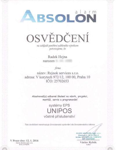 ABSOLON - systémy EPS